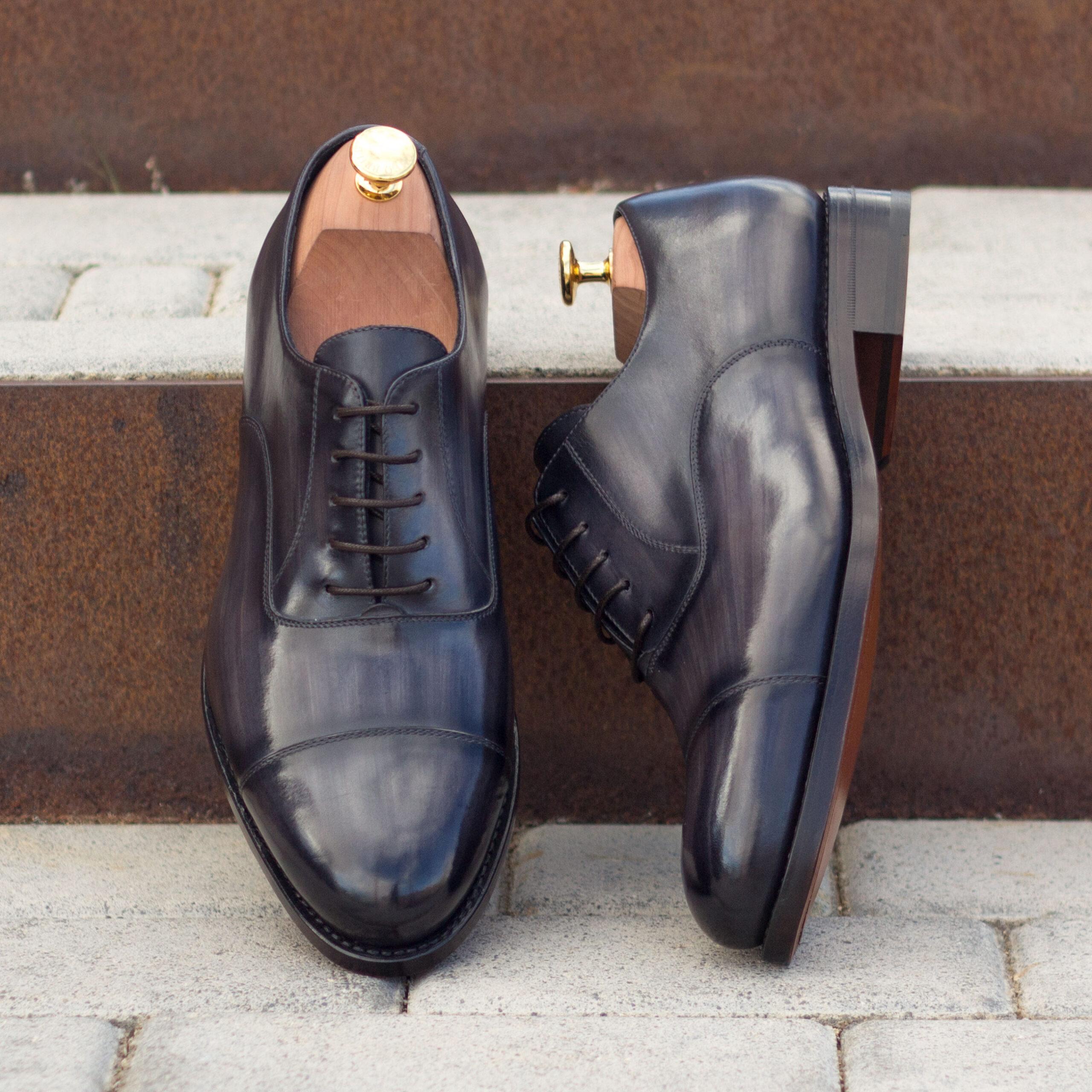 Des chaussures richelieu (Oxfords) pour homme, la différence avec les brogues! Les conseils de Maison Le Duc